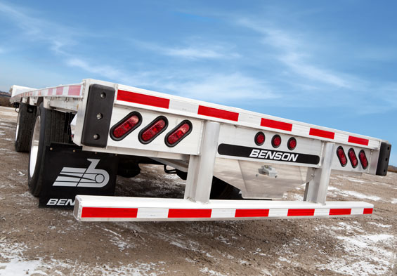 Benson International trailers